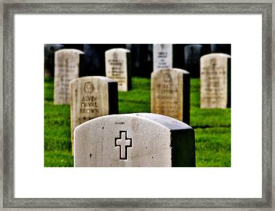 Sacrifice Framed Print by Benjamin Yeager