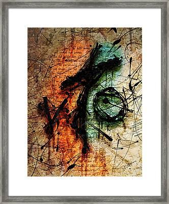 Sacrifice Framed Print by Gary Bodnar