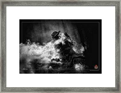 Sacrifice Framed Print by Mitchell Brown