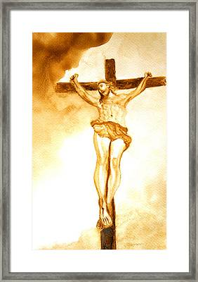 Sacrificed Framed Print by Julee Nicklaus