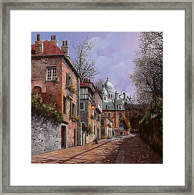 Sacro Cuore Framed Print by Guido Borelli