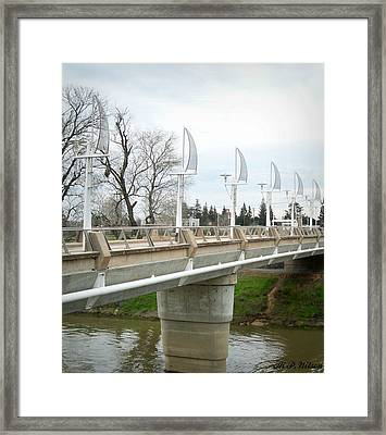 Sactown Water District Framed Print