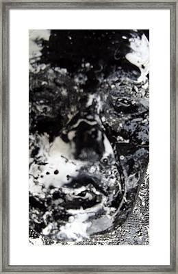 sad Framed Print by David King