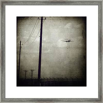 Sad Goodbyes Framed Print