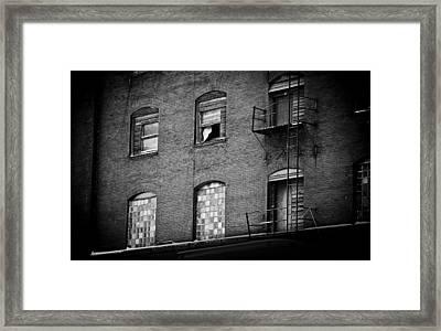 Sad Serenade Framed Print