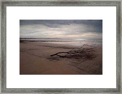 Sad Sunset Framed Print by Daniel Kocian
