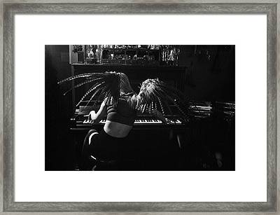 Sad Wings Of Destiny Framed Print by Joe Longobardi
