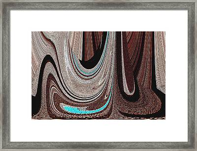 Saddle Blanket Framed Print