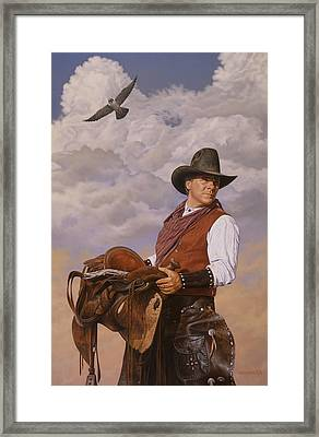Saddle 'em Up Framed Print