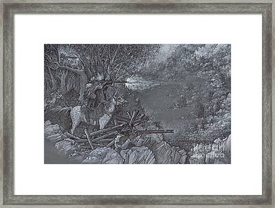 Saddle Sniper Framed Print