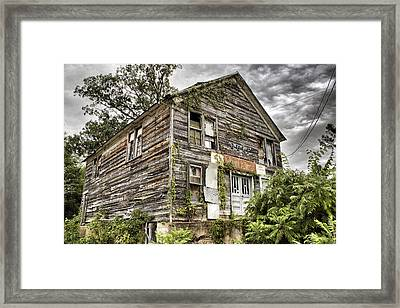 Saddle Store 1 Of 3 Framed Print by Jason Politte