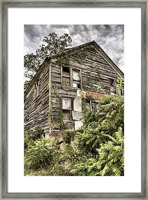 Saddle Store 2 Of 3 Framed Print by Jason Politte