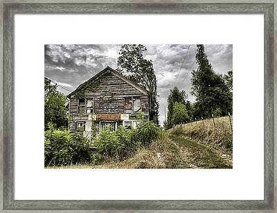 Saddle Store 3 Of 3 Framed Print by Jason Politte