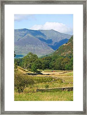 Framed Print featuring the photograph Saddleback Mountain by Jane McIlroy