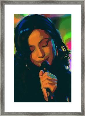 Sade 2 Framed Print by  Fli Art