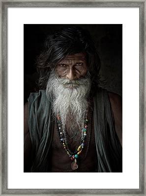 Sadhu IIi Framed Print by Gilles Lougassi