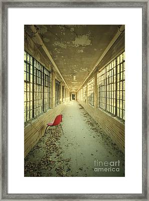 Sadly Acknowledged Framed Print by Evelina Kremsdorf