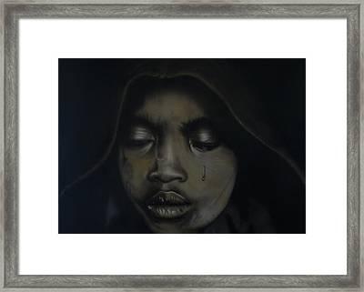 Sadness 2 Framed Print