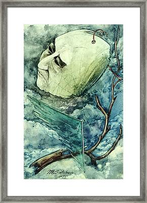 Sadness Of No Framed Print
