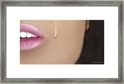 Sadness Framed Print