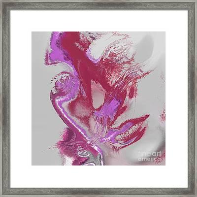 Sadness Framed Print by Soumya Bouchachi