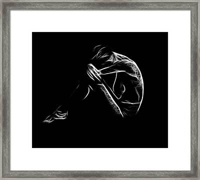Sadness Framed Print by Steve K