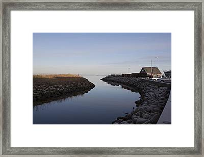 Saeby Canal Framed Print