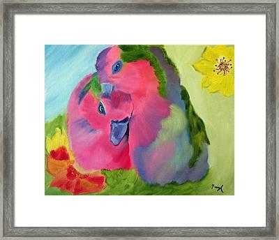 Safe And Sound Framed Print by Meryl Goudey