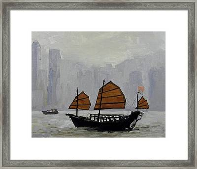 Safe Harbor Framed Print by Anthony Sell