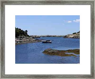 Safe Harbor Framed Print by James McAdams