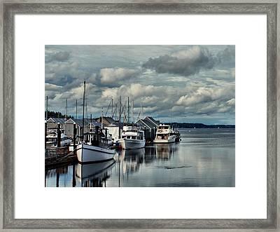 Safe Harbor Framed Print by Patricia Strand