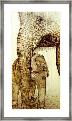Safe Haven Framed Print by Roger Storey