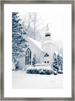 Historic Church Oella Maryland Usa Framed Print
