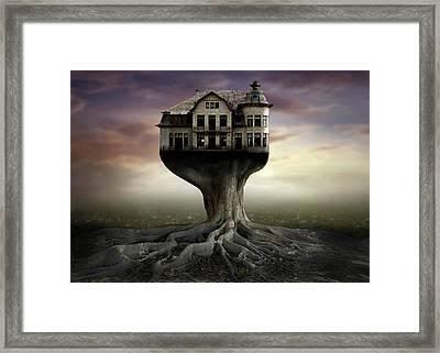 Safe House Framed Print