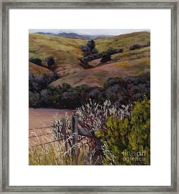 Sage At The Gate Framed Print