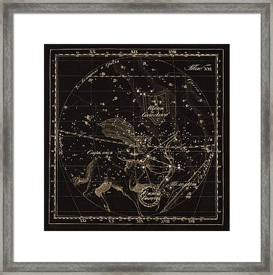 Sagittarius Constellations, 1829 Framed Print by Science Photo Library