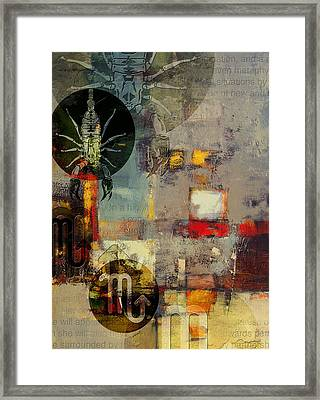 Sagittarius Star Framed Print by Corporate Art Task Force