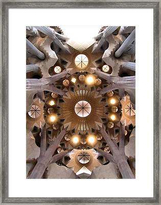 Sagrada Familia Framed Print by Jennifer Wheatley Wolf