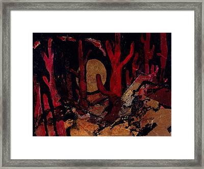 Saguaro Sonata Framed Print