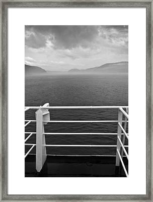 Saguenay Framed Print by Arkady Kunysz