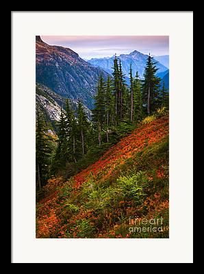 North Cascades Framed Prints