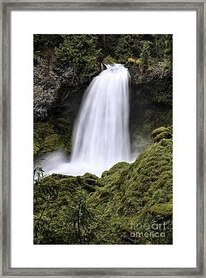 Sahalie Falls Framed Print