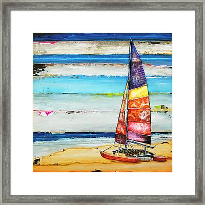 Sail Away Framed Print by Danny Phillips