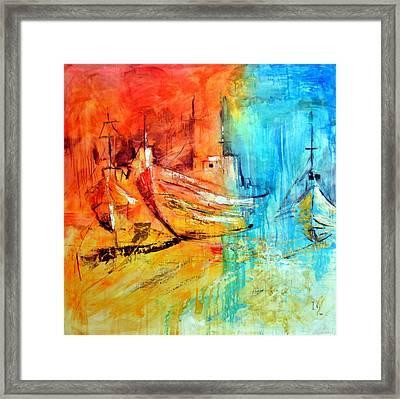 Sail Away Framed Print by Ivan Guaderrama