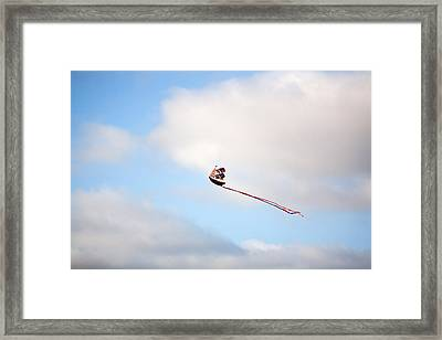 Sail Away Framed Print by Peter Tellone