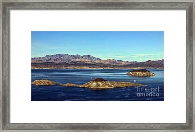 Sail Away Framed Print by Tammy Espino