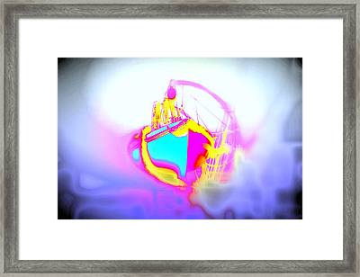 Come Sail Away With Me And Never Return  Framed Print