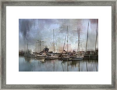 Sail Away With Me Framed Print by Kathy Jennings