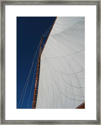 Framed Print featuring the photograph Sail Away With Me by Photographic Arts And Design Studio