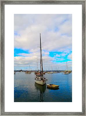 Sail Me Framed Print